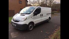 Excellent condition Vauxhall vivaro LWB van-2013-One owner-no VAT.