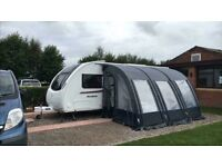 Westfield 390 air awning and carpet