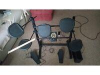 Brand New & Boxed Electric Drum kit ( Rock Jam RDB205 )