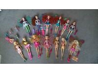 Winx Club dolls