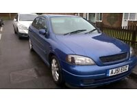 Astra 1.6 sxi 51 plate air con all electrics immac condition slight tear in seat superb cond