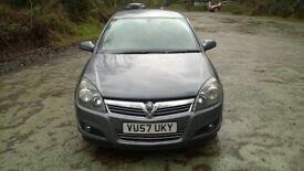 2007 Vauxhall ASTRA 1,8 petrol 140bhp
