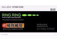 Ring Ring mobile phone repairs shop