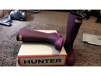 Hunter Wellie Boots Size 4 Brand New