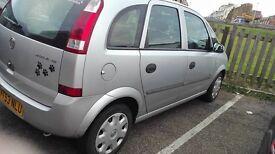 Vauxhall meriva enjoy 1.8