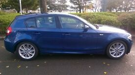 BMW 120 M SPORT DIESEL AUTO 12 months m o t low milage , very clean car .