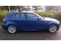 BMW 120 M SPORT DIESEL AUTO 12 months m o t low milage , very clean car .