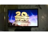 logik 24 led tv with dvd player
