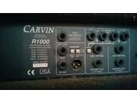 Carvin Redeye Bass Amp and R1000 Head