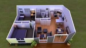GRANNY FLAT DA PACKAGES ON SPECIAL ONLY $2550 limited time Liverpool Liverpool Area Preview