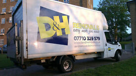D & H Removals - Full/Part House Removals, Man & Van Service Available, House Clearance, Deliveries.