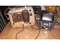 cine projector and splicer