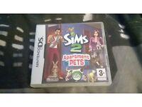 Sims 2 Apartment Pets D.S Lite game
