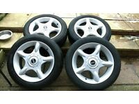 for sale.. 4x mini cooper wheels in very good condition will need new tyres