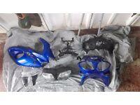 SV650 motorbike Parts 1999 to 2001