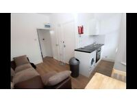 1 bedroom room flat with open plan kitchen just minutes walking distance from black horse station.
