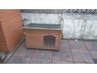Insulated Imperial dog kennel