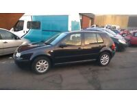 VW GOLF S 2001 1.4 7MONTHS MOT LEFT NEW CLUTCH RECENTLY FITTED VERY CLEAN IN GOOD CONDITION