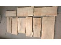 Oak stepping stones 54 pieces