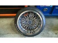 RH Mesh alloys , bmw 5x120 rare