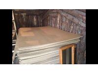 Hardboard sheets x 7