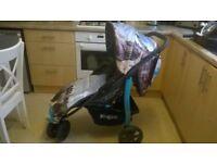 Koochi Blue Pushchair, stroller