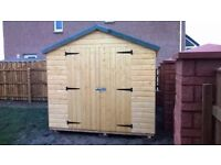 SALE: 8ft x 8ft Wooden Garden Shed