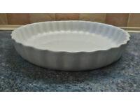 Ceramic quiche/flan