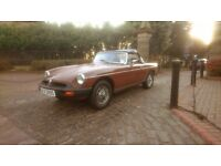 MGB Roadster 1978 LOW MILES