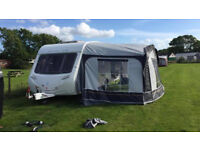 Sterling Europa 530 5 berth caravan + full awning from swift group