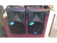 Pair of DJ speakers