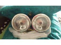 Brand new chrome dominator headlights