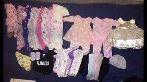 0-3mth Girl Clothing