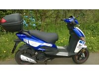 Motorini gp125 scooter with shop warranty till February 2018