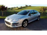 2007 Peugeot 407 2.0 HDi Se-Diesel-Low Miles-Full 1 Years MOT 2018 Next Year--a4,320d,avensis,passat