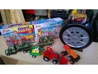 job lot of boys toys