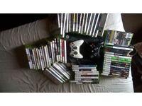 XBOX 360 & games bundle