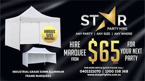 STAR EVENT & PARTY HIRE * CHAIR * TABLE * MARQUEE * STAGE * Seven Hills Blacktown Area Preview