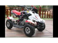 Bran new kids 50cc quads and bikes