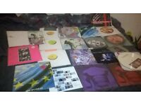 COLLECTION OF MANIC STREET PREACHERS VINYLS INC SIGNED RICHEY