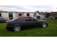 Bmw E46 323ci track car ( WILL BREAK FOR SPARES) not nissan,audi,subaru,vauxhaul,ford,mazda,toyota