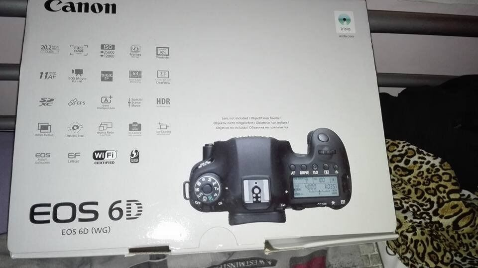Canon 6d Box Cd Instruction Manual In Bury Manchester Gumtree