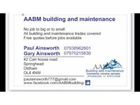 Building work... all aspects of building.... new builds to finishing touch