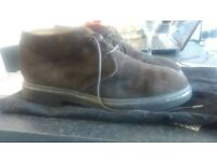 Ducal real Italian leather suede chukka boots size 9 £30