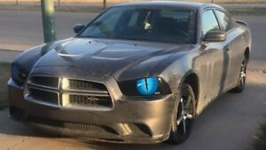 2011 - 2013 Dodge Charger Headlight Covers