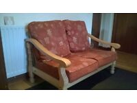 2-1-1 cottage style sofa and chairs