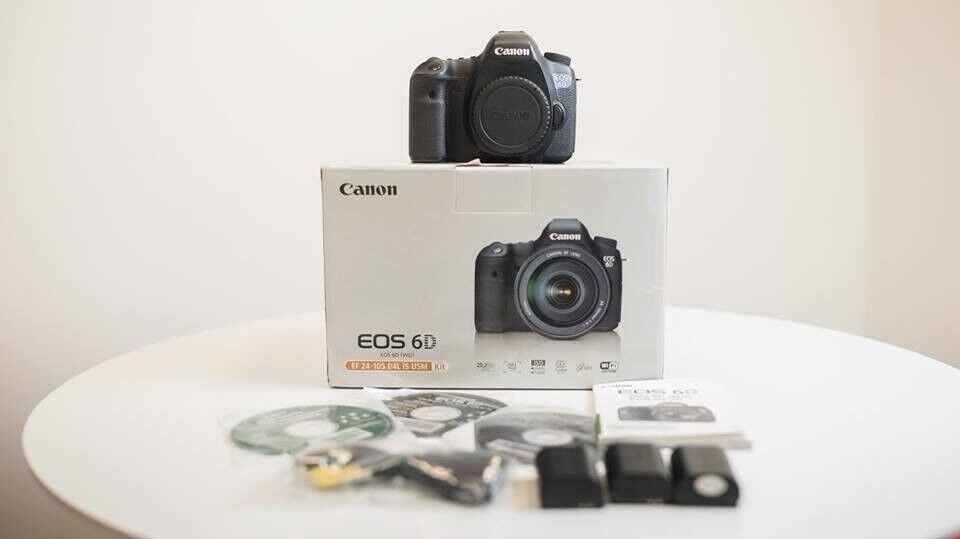 Canon 6D - Full Frame DSLR Camera *GOOD CONDITION* | in Salford ...