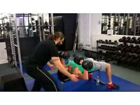 Personal Trainer Specialist in training 35-45 year old males