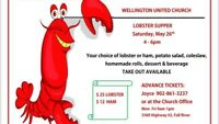 Lobster supper in Wellington!