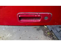 VW Lupo back door
